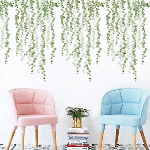Plants-Green-Leaves-Living-Room-Bedroom-Decor-Wall-Stickers-Diy-Wall-Door-De-Nk