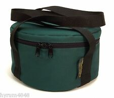 """Cast Iron Dutch oven Carry Case Bag Fully Padded fits 16"""" Dutch oven-Made in USA"""