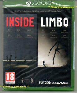 INSIDE-LIMBO-DOUBLE-PACK-039-New-amp-Sealed-039-XBOX-ONE-1