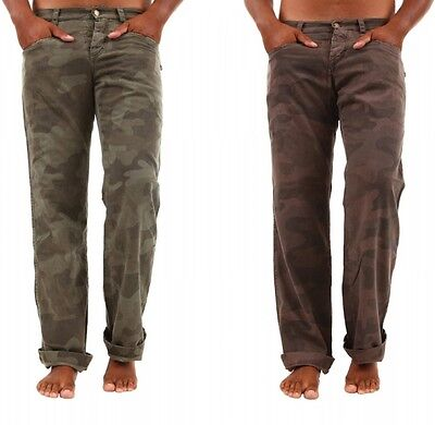 Coscienzioso Pantaloni Uomo Camouflage Absolut Joy Stile Militare Jeans Mimetica B314 Tg M L Materiali Accuratamente Selezionati