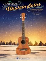 Christmas Ukulele Solos Sheet Music 20 Holiday Favorites Tenor Uke 000119912
