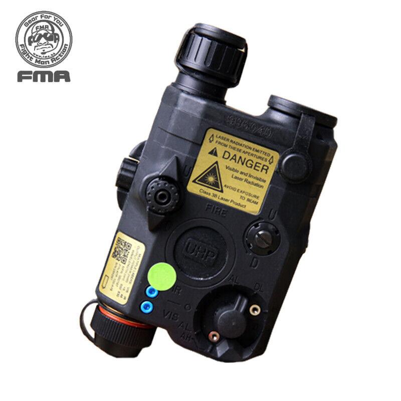 FMA PEQ LA5-C versión de actualización la Caja de Batería blancoo Led + Lentes IR Láser verde W Ejército