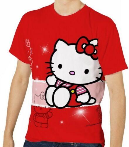 S M L XL 2XL 3XL Neu Kitty Herren T-Shirt Tee Gr