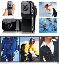 MD80 Mini DV DVR Sports Bike Helmet  Camera Pocket Spy Cam Video Audio Recorder