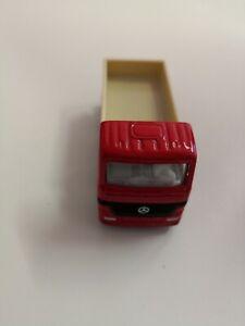 Siku-Mercedes-CAMION-Pianale-MK-e-9111-vetrina-modello-da-collezione-senza-imballaggio-originale