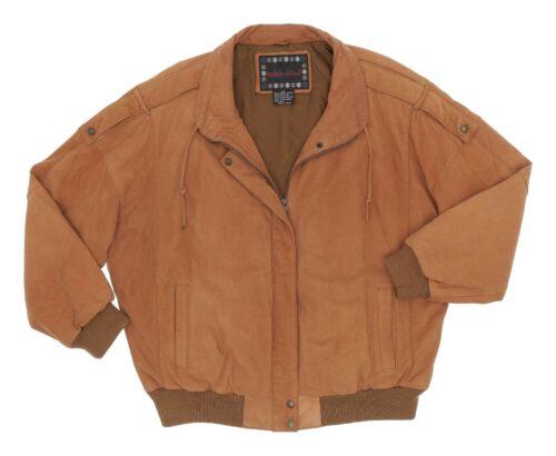 Vintage MIDDLEBROOK PARK Leather Flight Jacket XL
