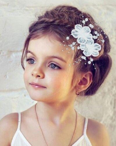 2 Stück Haarclip Blume 4 FARBEN Perlen Ansteckblume Haarspange Haarschmuck NEU