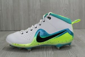 4d01f57bba37 29 Nike Zoom Trout 4 Elite ASG Metal Baseball Cleats Mahi White ...