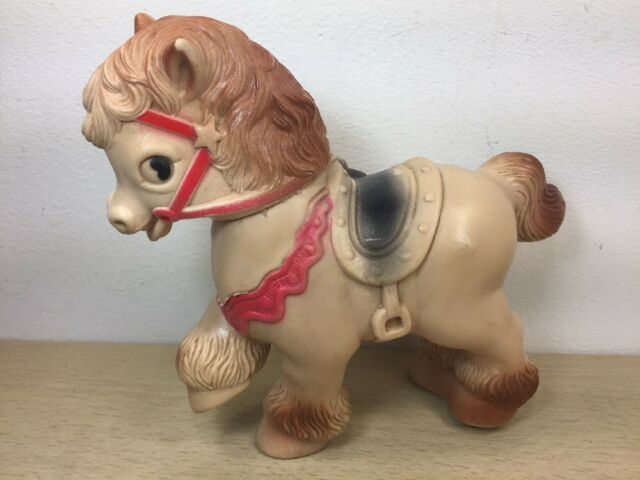 Vintage Squeaky Toy Viceroy Horse Squeaky Toy Sun Rubber mold