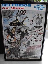 Selfridge Air National Guard Base Air Show Poster June 11-12 1994