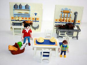 Playmobil 5317 Serie Rose Cuisine Maison Victorienne 100 Complet Ebay