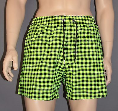 Fedele Olaf Benz Blu 1660 Costume Da Bagno Beach Shorts Pantaloncini Da Bagno Check Citro Taglia M L Xl-mostra Il Titolo Originale Facile Da Usare