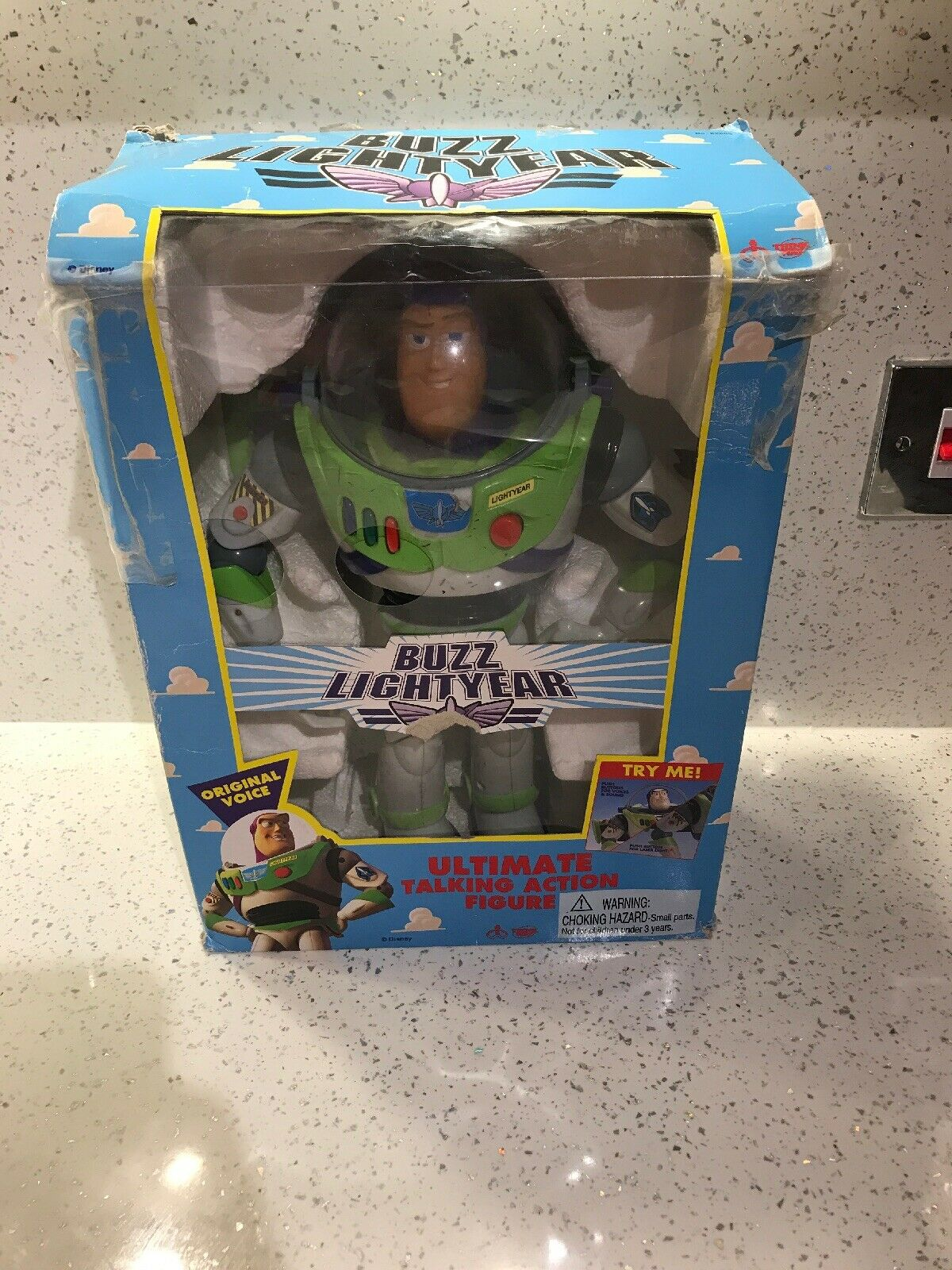Toy Story  Ultimate Parlante Action Figure Buzz Lightyear in scatola D5