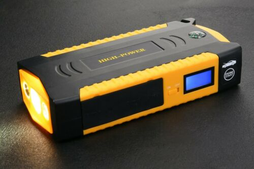 82800mAh Car Jump Starter 600A Emergency 4USB 12V Power Bank Battery Charger