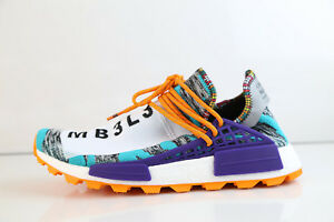 various colors 6cfe5 f48be Details about Adidas Pharrell Williams PW NMD Trail Solar Afro Hi Res Aqua  BB9528 10 boost