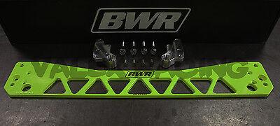 Blackworks BWR Rear Subframe Brace 96-00 Honda Civic EK Hyper Yellow