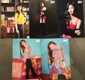 TWICE-JPN-1st-ALBUM-BDZ-Release-event-Limited-Official-Photocard-SANA-All-5sets