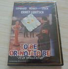 DVD PAL CINE CLUB TO BE OR NOT TO BE NEUF SOUS CELLO ZONE 2 ANGLAIS VOSTF