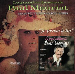 Detalles De Paul Mauriat Je Pense à Toi From Souvenirs To Souvenirs Cdlk4559