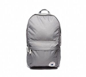 Image is loading Grey-Converse-All-Star-Backpack-Rucksack-School-bag faefb2db8d