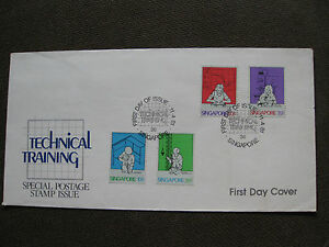 Singapore-1981-FDC-Technical-training-no-exp-note