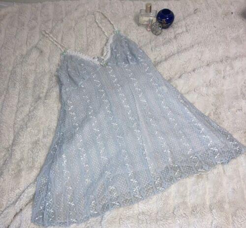 Claire Pettibone Baby Blue Chemise - image 1