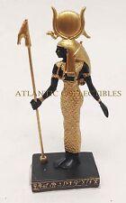 Ancient Egyptian Miniature Doll House Small Sculpture Hathor Goddess Decorative