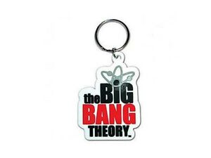 The-Big-Bang-Theory-porte-clefs-officiel-pvc-logo-serie-TBBT-official-keychain