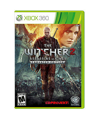 The Witcher 2 Assassins Of Kings Enhanced Edition Microsoft Xbox 360 2012 For Sale Online Ebay