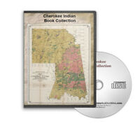 Cherokee Indian Nation Tribes History, Medicine, Song, Myth 44 Books Cd - B431