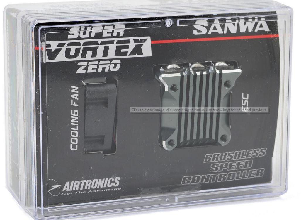 Sale  SANWA Super Vortex Zero For  Sensored Brushless SSL  ESC 1 10 EP Drift
