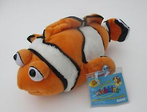 KR1 Clown Fish PLUSH WEBKINZ PET ANIMAL Collectible underwater sea New code