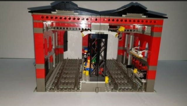 Lego World City, 10027, Brugt super stand