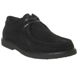 Suede Mens Moccasins Boots Poste Black Iberian RwwfBU6q