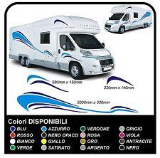 adesivi CAMPER grafica in vinile Set Camper Van RV Caravan Motorhome roulotte