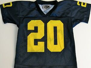 the latest 1002b 479d3 Details about MICHIGAN WOLVERINES YOUTH NCAA FOOTBALL JERSEY #20 NEW! YOUTH  MEDIUM OR LARGE