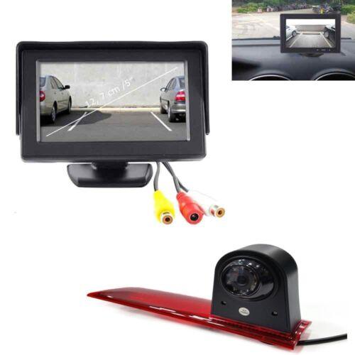 """Rückfahrsystem cámara de visión trasera con 5/"""" monitor para Ford Transit Custom LED 2016"""