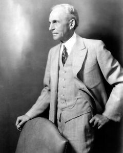 HENRY-FORD-PORTRAIT-8X10-PHOTO-FORD-MOTOR-COMPANY-1934