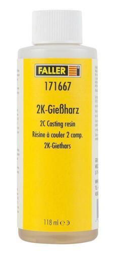 Faller h0 171667 2k-Gießharz Nouveau//Neuf dans sa boîte cristallin aushärtend