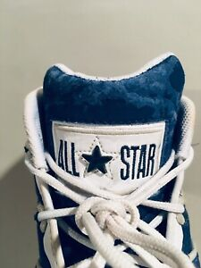 1998 Vintage AS Converse Dennis Rodman Mid Size US 10.5 All Star Cons React