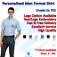 Personalised-Mens-Button-Down-Business-Short-Sleeve-Stylish-Formal-Dress-Shirt thumbnail 9