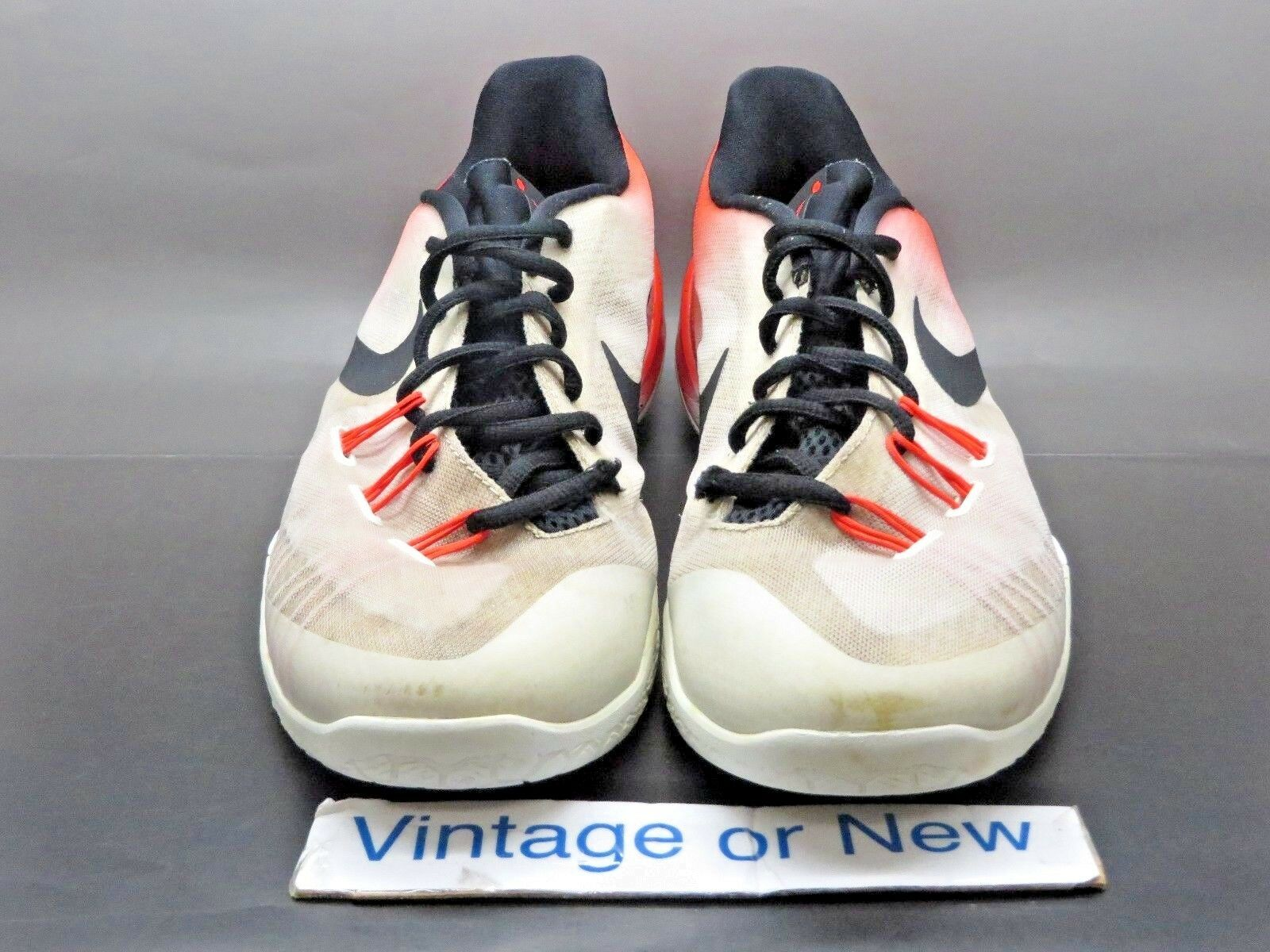 e690b43be9 Nike Hyperchase PRM White Infrared Black James Harden Basketball 705369-106  sz 9
