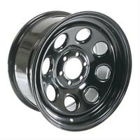 Cragar Soft 8 Black Steel Wheels 16x8 6x4.5 Set Of 4