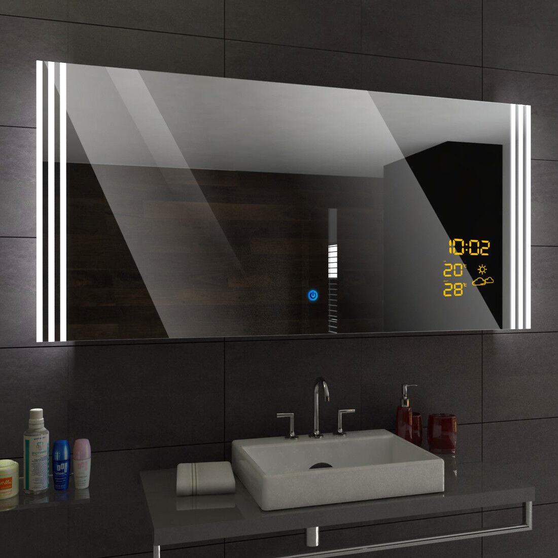 Illumination LED miroir sur mesure eclairage salle de bain ARICA
