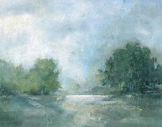 Carol Robinson  Summer Afternoon barella-immagine Schermo baum-landschaft verde