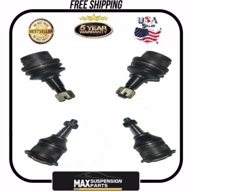 GM Suspension Ball Joint 2 Front Upper 2 Lower Tahoe 4X4