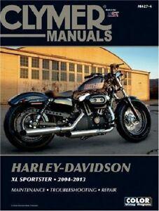 clymer service manual harley davidson xl1200n nightster 2007 2012 rh ebay com 2013 Nightster 2009 Nightster