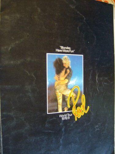 Rod Stewart Blondes Have More Fun 1978/9 Tour Program Book