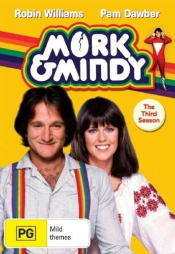 1 of 1 - Mork and Mindy : Season 3 ...REG 4...VGC