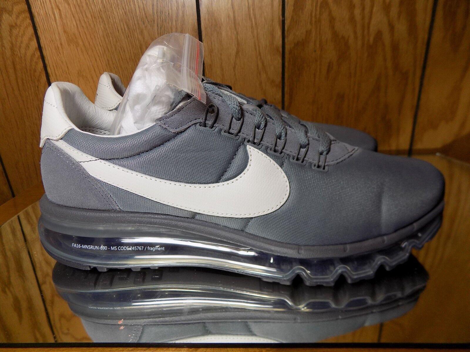 Nike Air Max Ld Zero Fragment Grey 885893 002 HTM Hiroshi Fujiwara s. 9.5